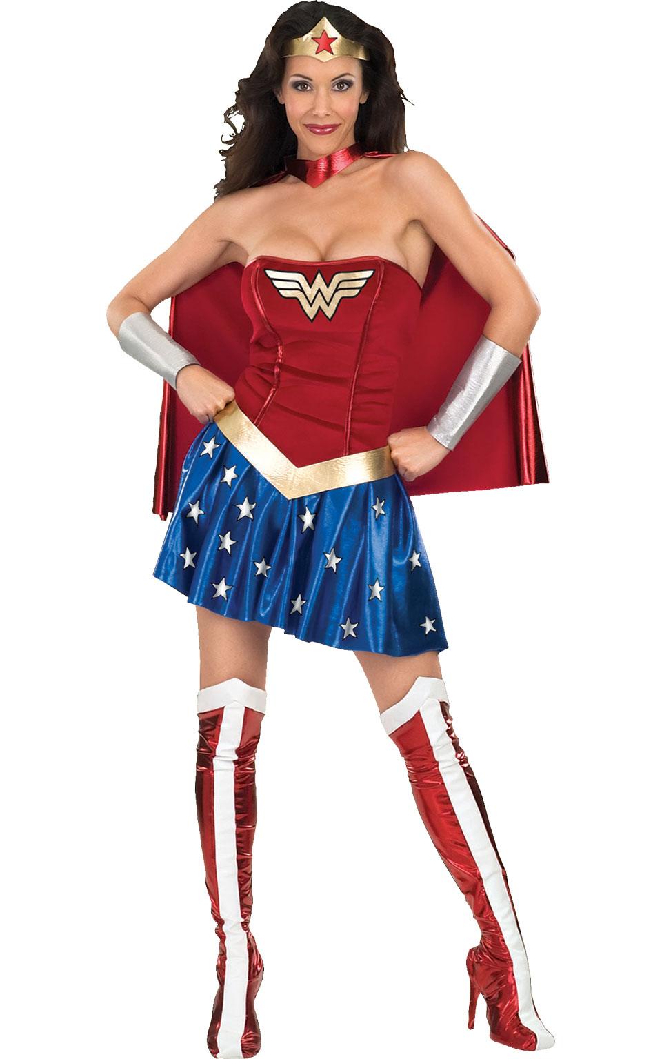 Rubies Kostým Wonderwoman Veľkosť: XS (hruď: 81-86 cm, pás: 55-60 cm)
