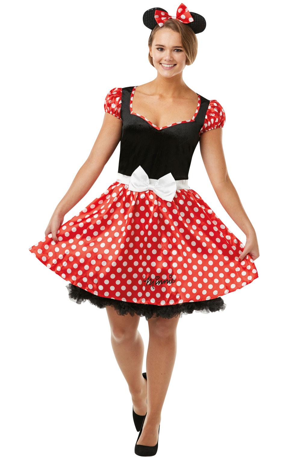 Rubies Kostým Minnie Veľkosť: S (hruď: 79-86 cm, pás: 60-69 cm)