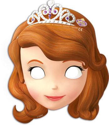 Procos Masky princezná Sofia 6 ks