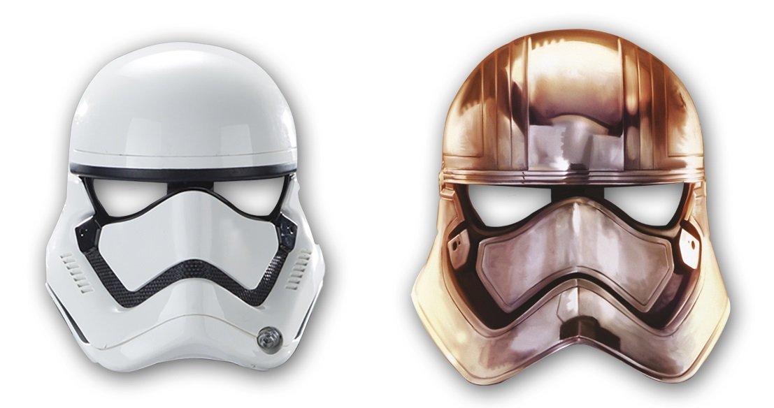 Procos Papierové masky Star wars 6 ks