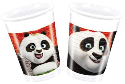 Procos Poháre Kung Fu Panda 8 ks