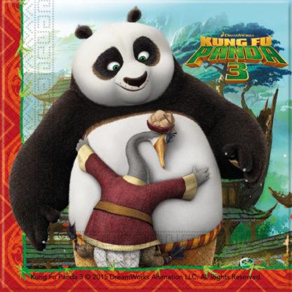 Procos Servítky Kung Fu Panda 33 x 33 cm 20 ks