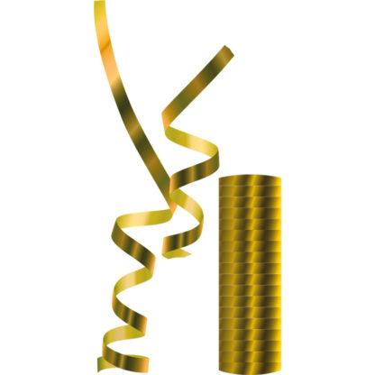 Procos Serpentíny metalické - zlaté 1 ks