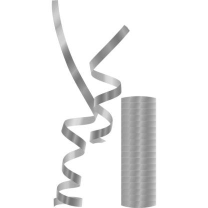 Procos Serpentíny metalické - strieborné 1 ks