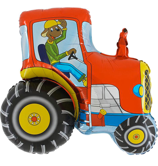 BP Fóliový balón Traktor