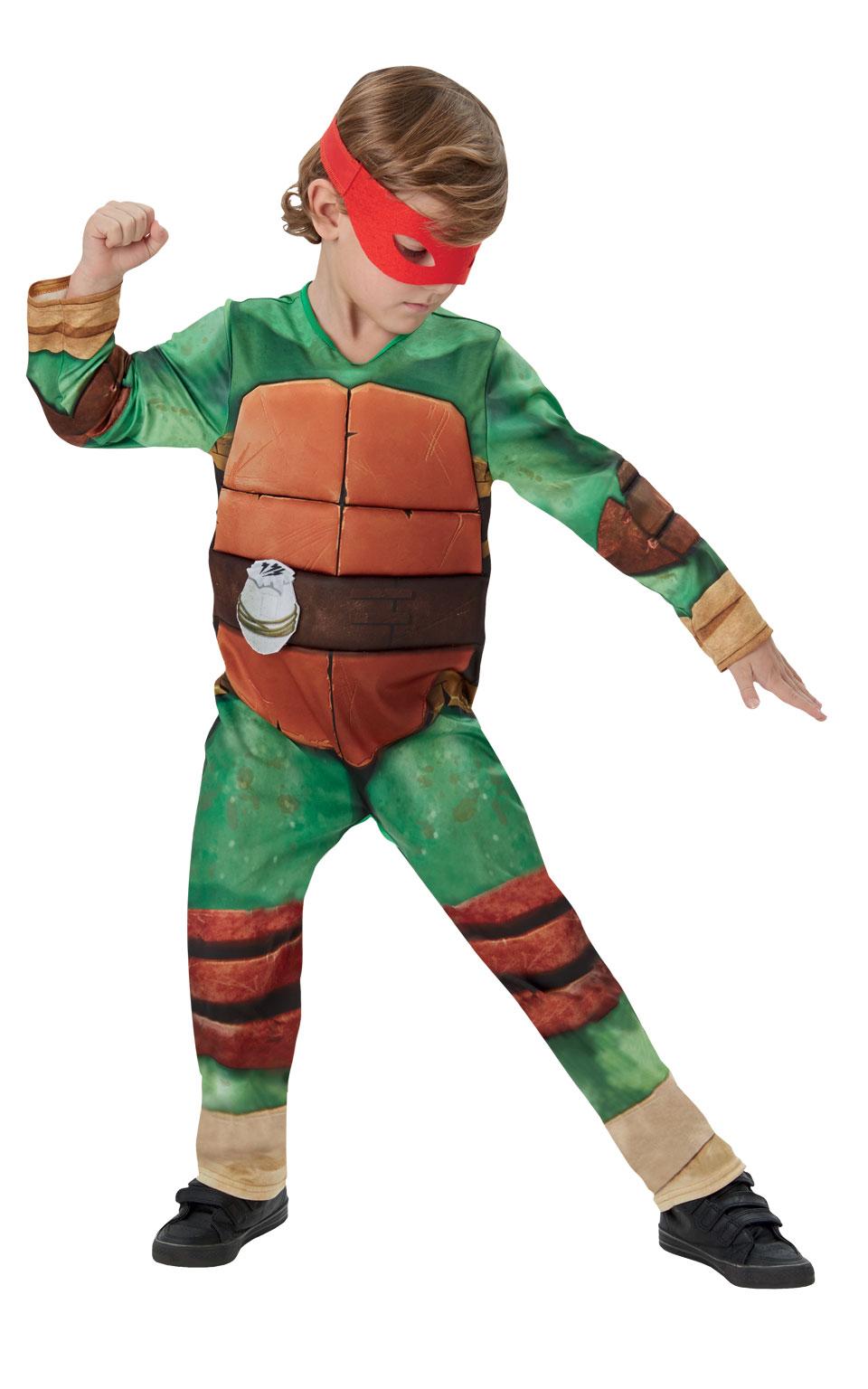 Rubies Detský kostým Ninja korytnačka deluxe Veľkosť - deti: M - Výška 110-116 cm