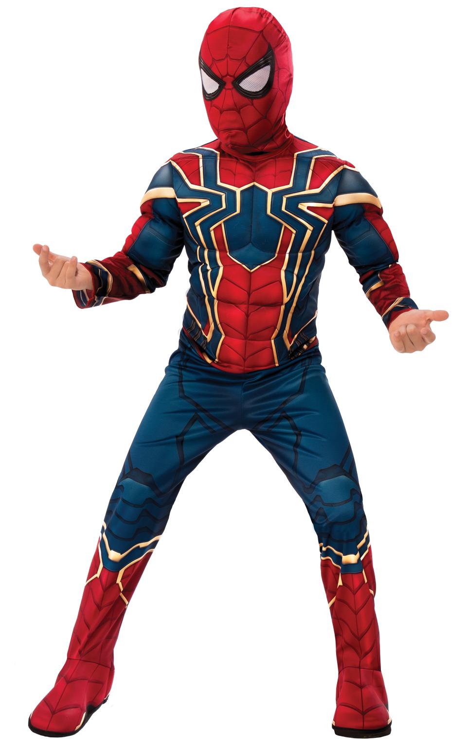 Rubies Detský kostým Iron Spiderman Deluxe Veľkosť - deti: S