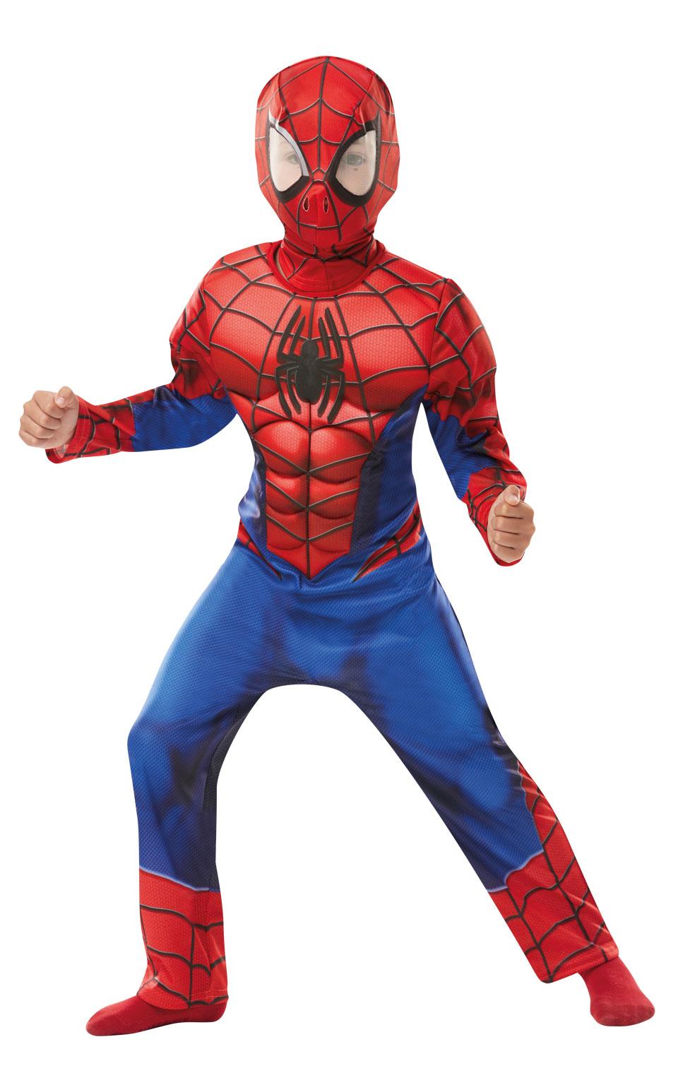 Rubies Detský kostým Spiderman deluxe Veľkosť - deti: S