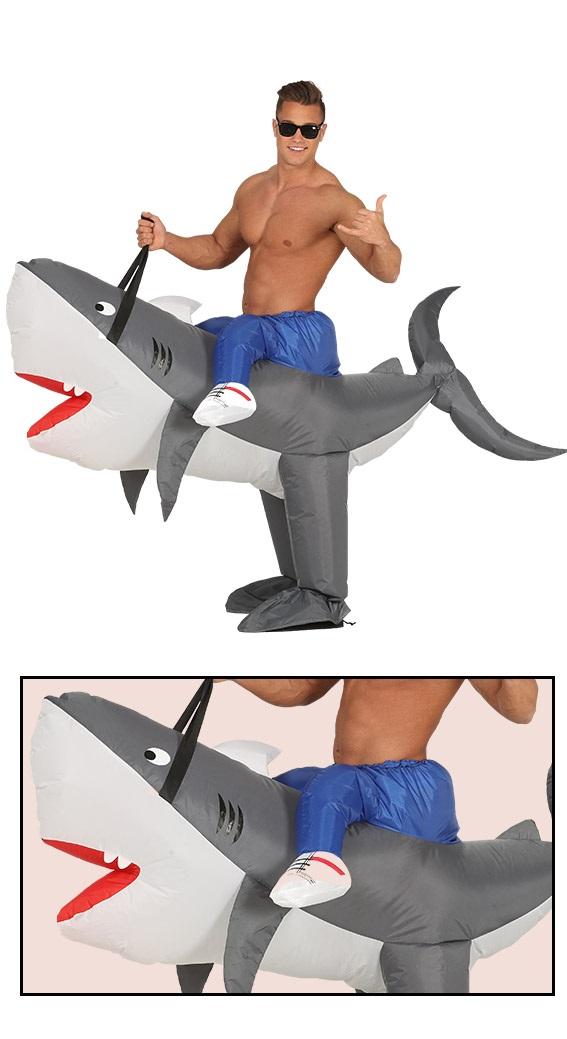 Guirca Kostým Nafukovací žralok Veľkosť - dospelý: L