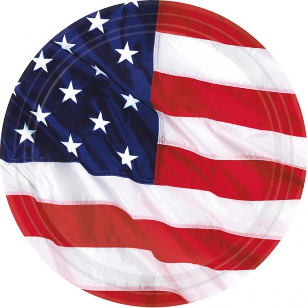 Amscan Taniere USA 8 ks