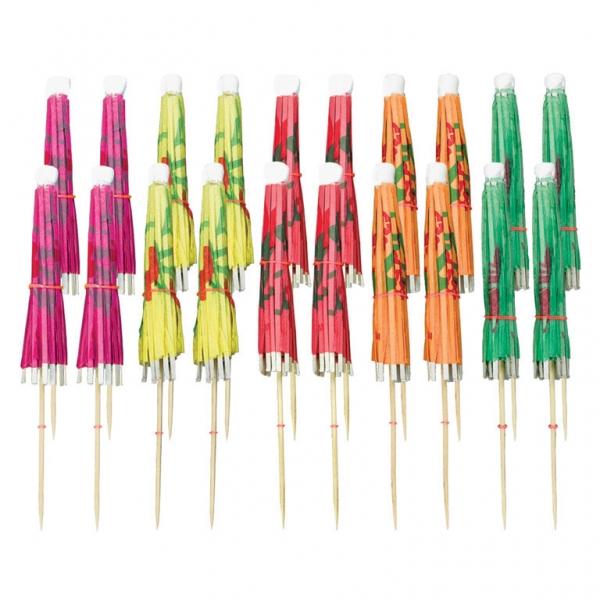 Amscan Ozdobné koktejlové dáždniky 20 ks