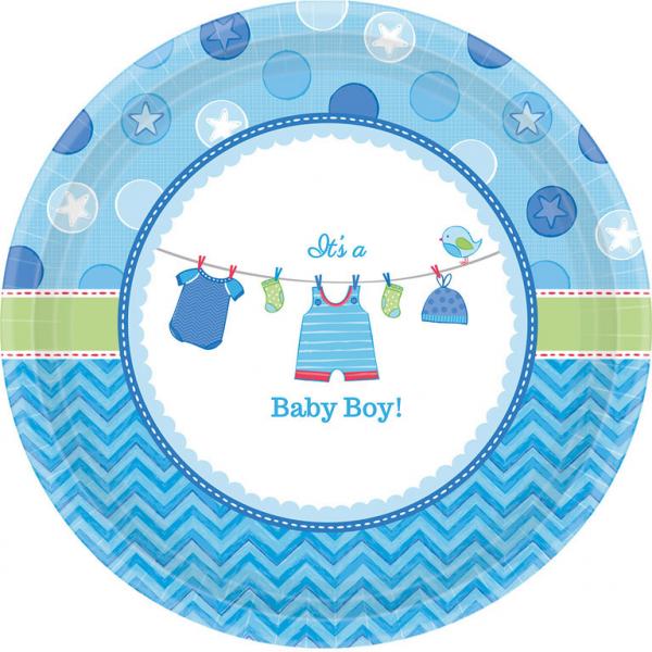 Amscan Taniere Baby boy 8ks