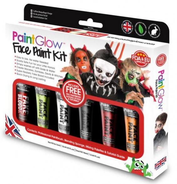 PGW Set farieb na tvár a telo - Deň mŕtvych