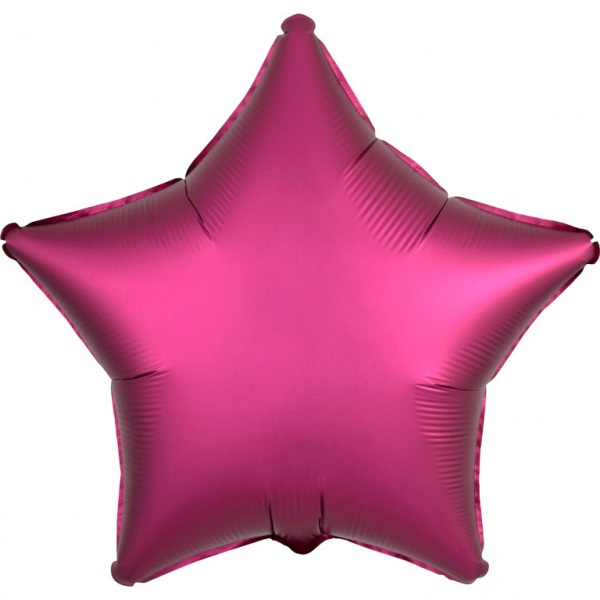 Amscan Fóliový balón Hviezda - Ružová 43 cm