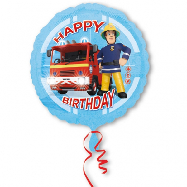 Amscan Fóliový balón Požiarnik Sam 43 cm