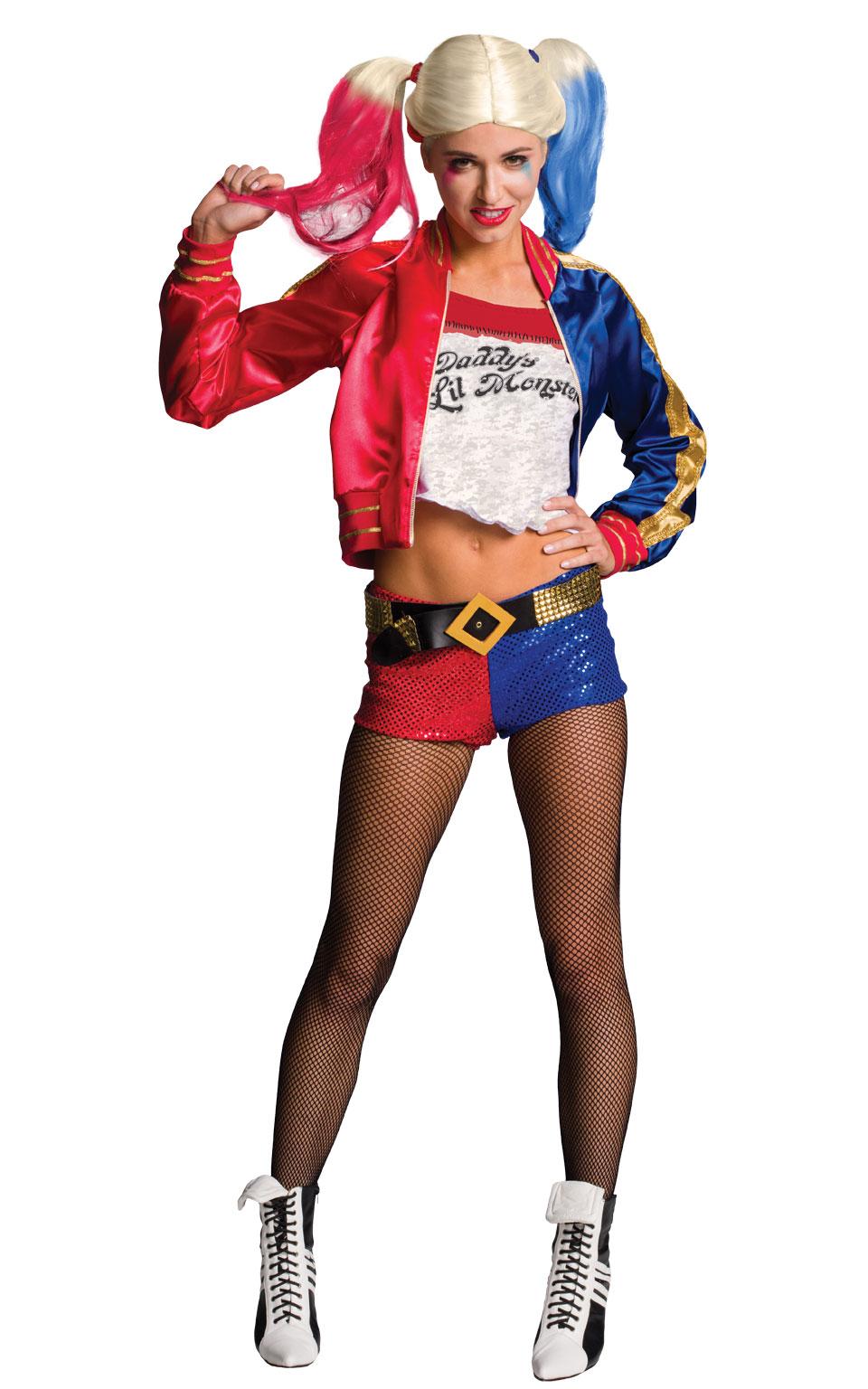 Rubies Kostým Harley Quinn - dámsky Veľkosť - dospelý: L