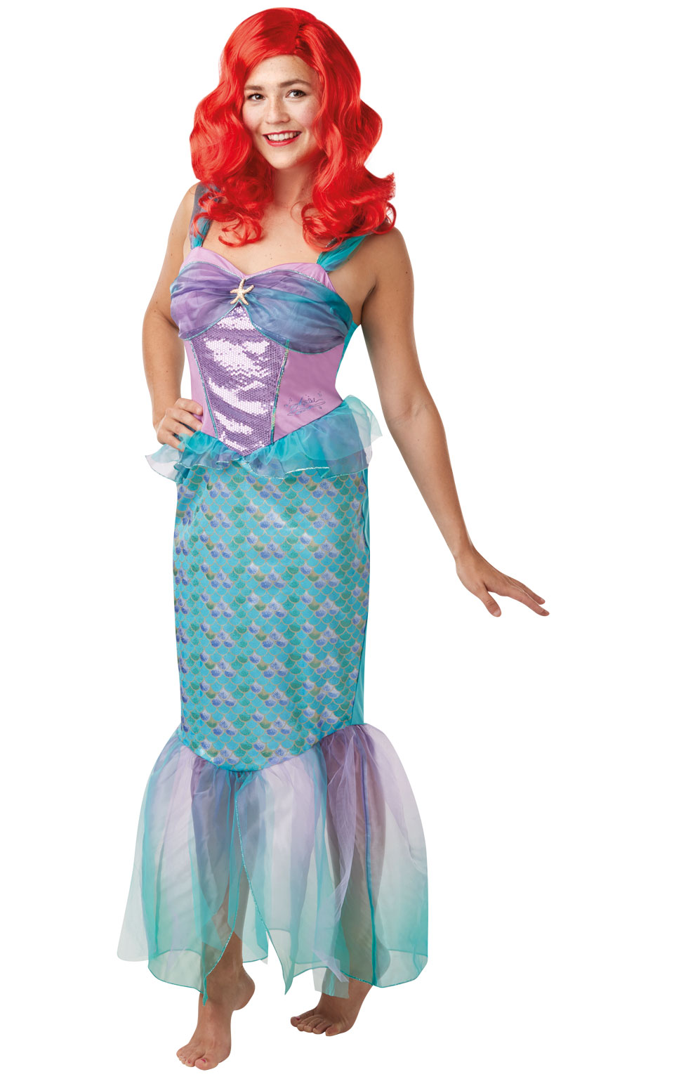 Rubies Kostým Ariel - dámsky Veľkosť - dospelý: S
