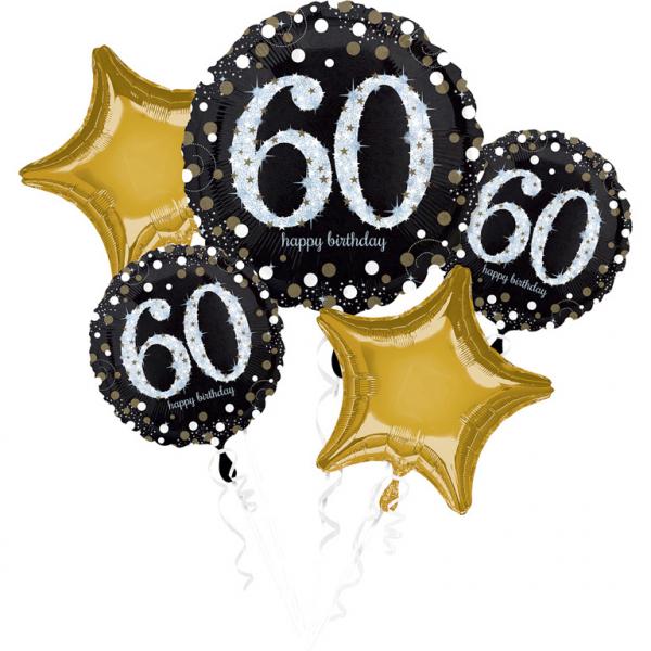 Amscan Kytica balónov - 60. narodeniny