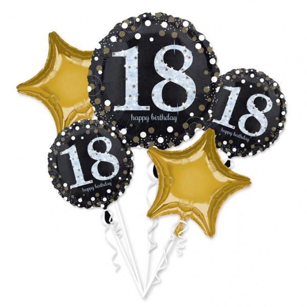 Amscan Kytica balónov - 18. narodeniny