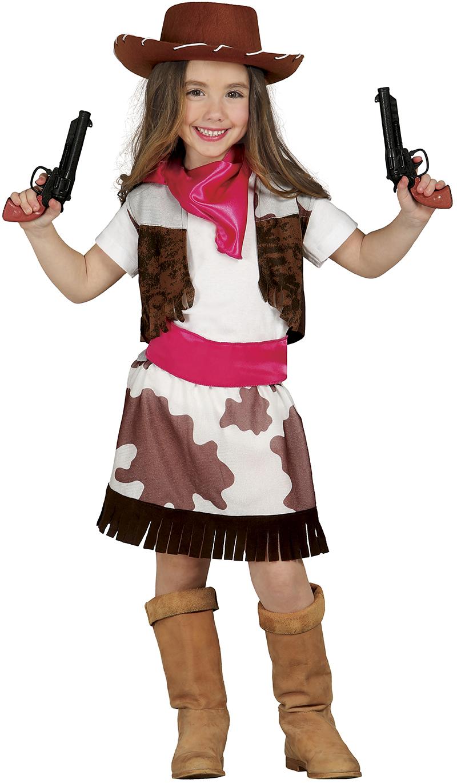 Guirca Kostým detskej Pištolníčky Veľkosť - deti: M - Výška 110-116 cm