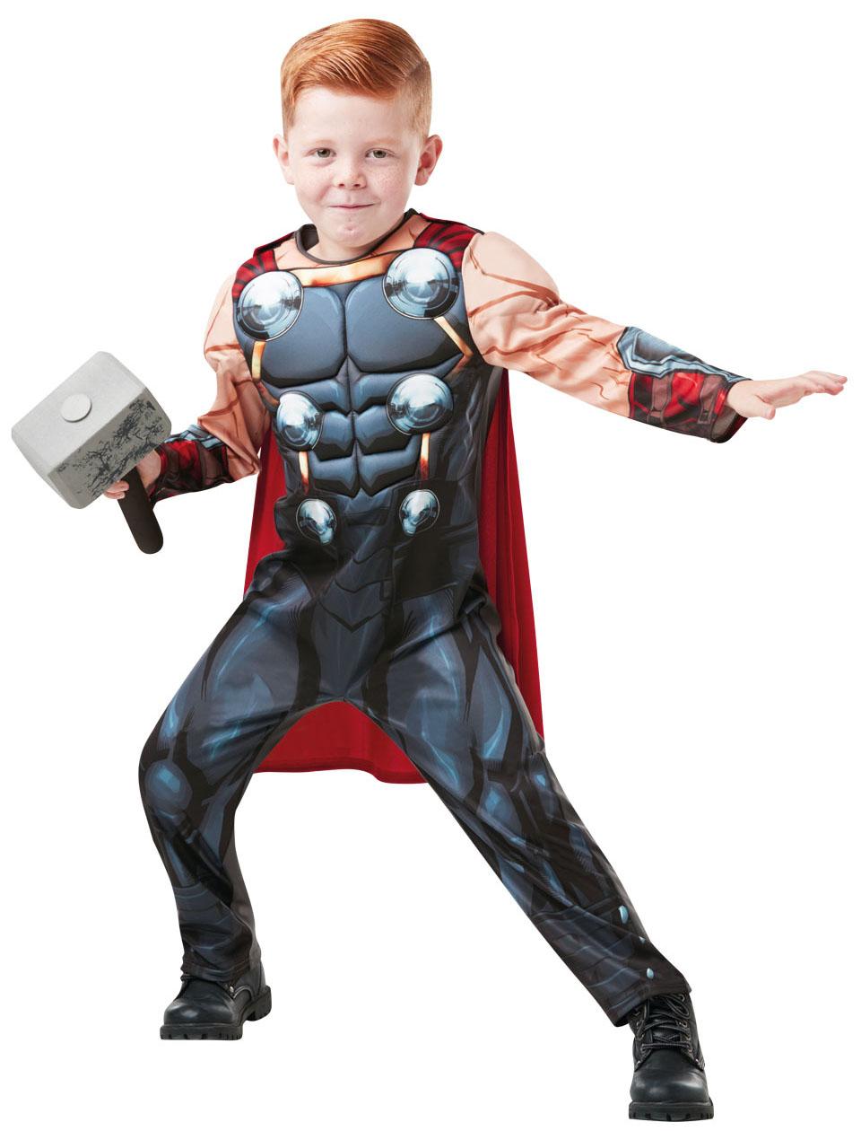 Rubies Thor Deluxe - detský Veľkosť - deti: S