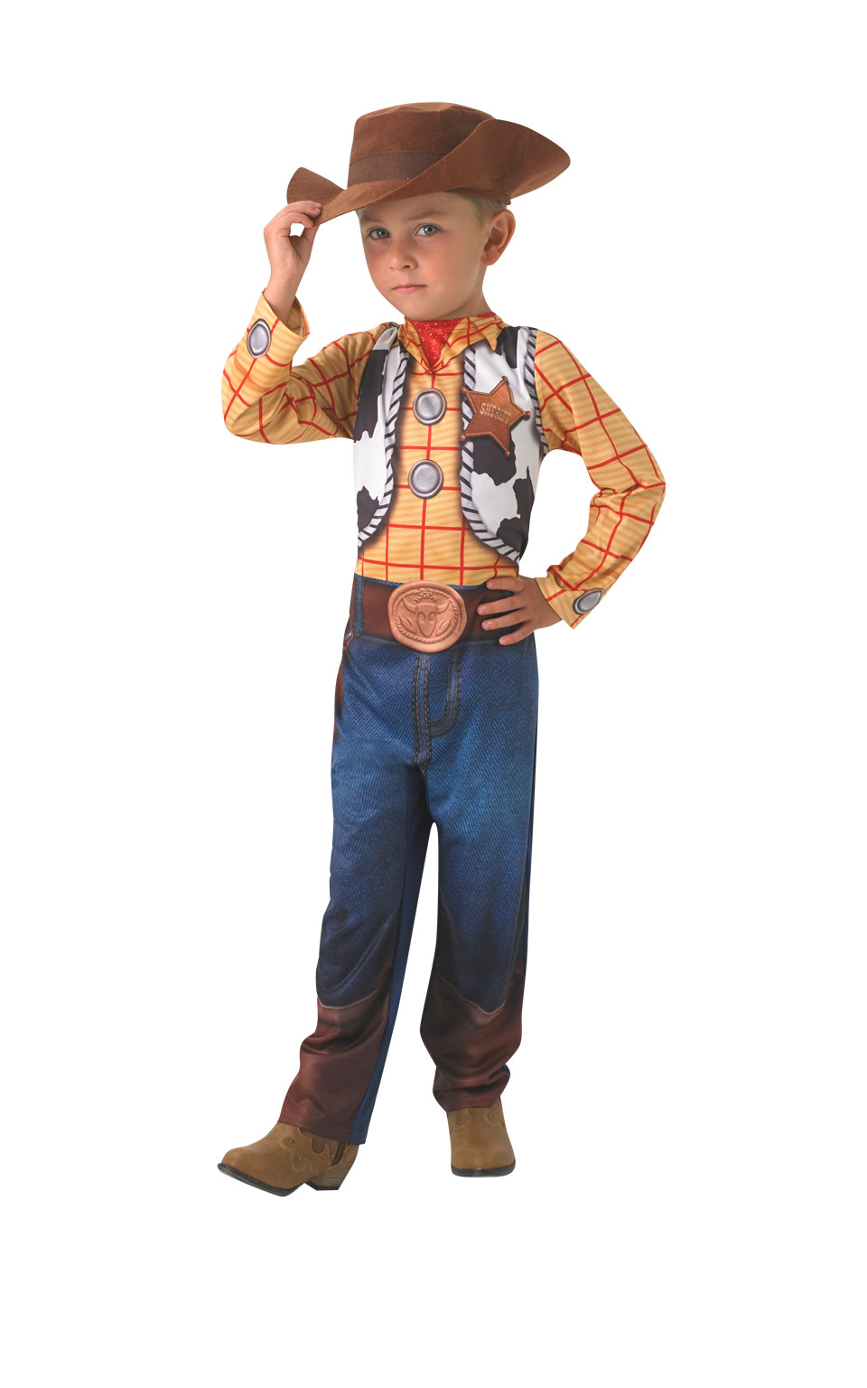 Rubies Detský kostým Woody Veľkosť - deti: S