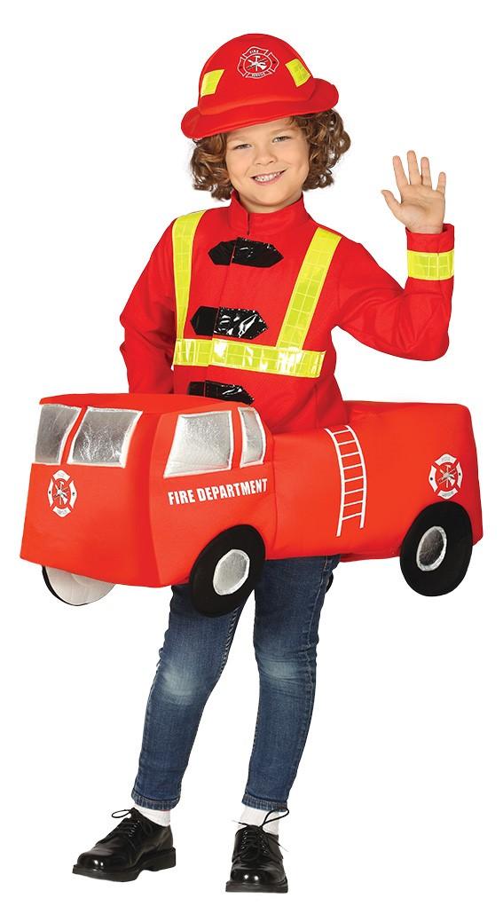 Guirca Detský kostým - Hasičské auto Veľkosť - deti: L