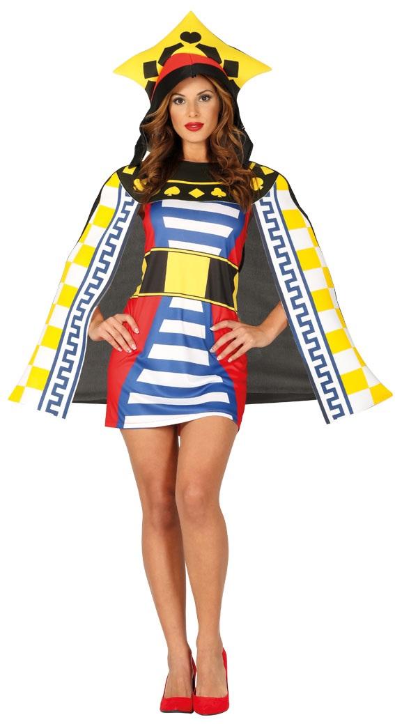 53475a832 Guirca Dámsky kostým Kráľovná - Game of cards Veľkosť - dospelý: L