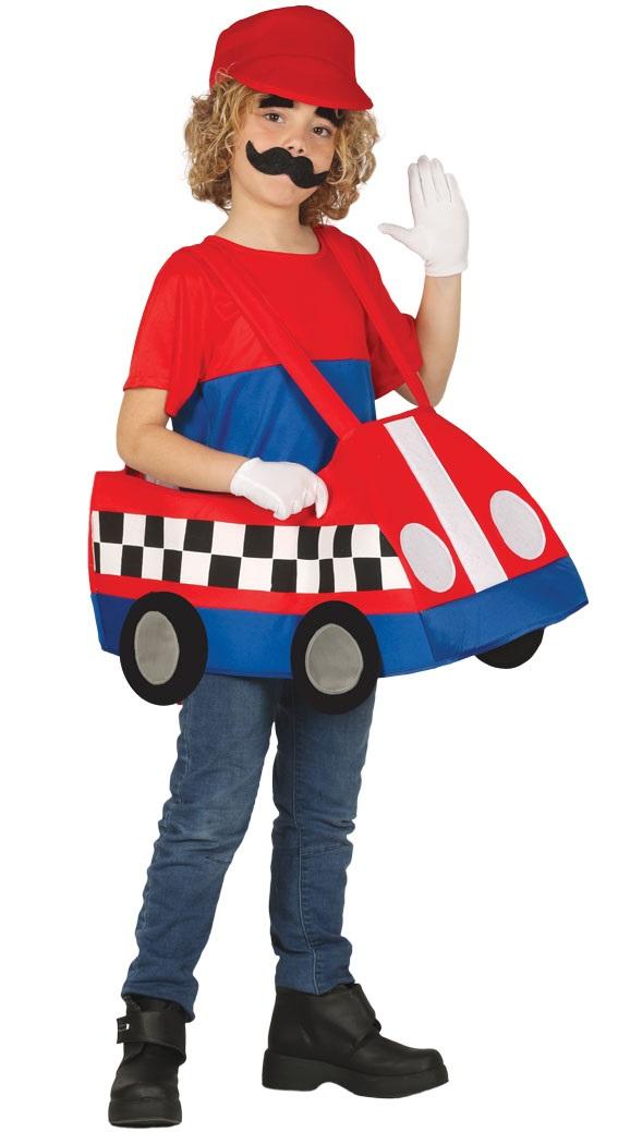 Guirca Detský kostým - Auto Veľkosť - deti: XL