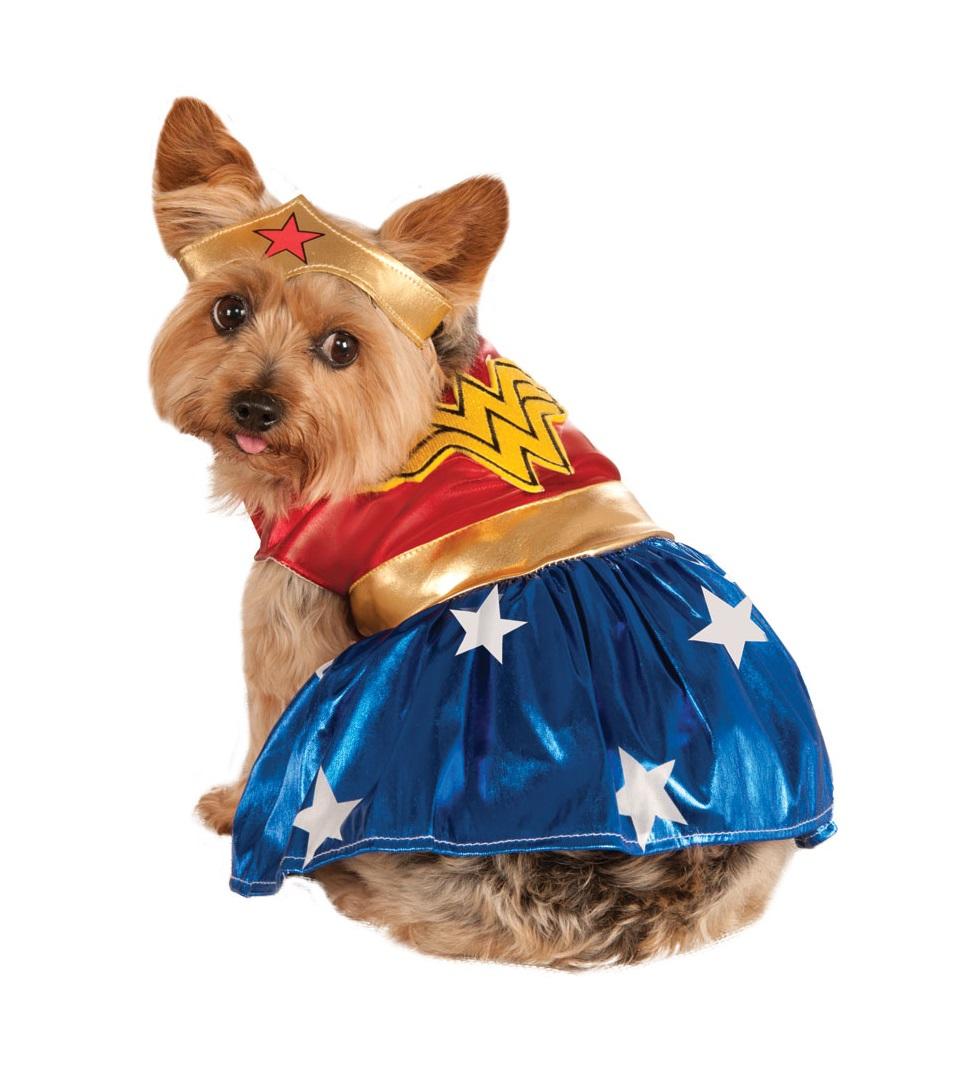 Rubies Kostým pre psov - Wonder Woman Kostým pre psov: S