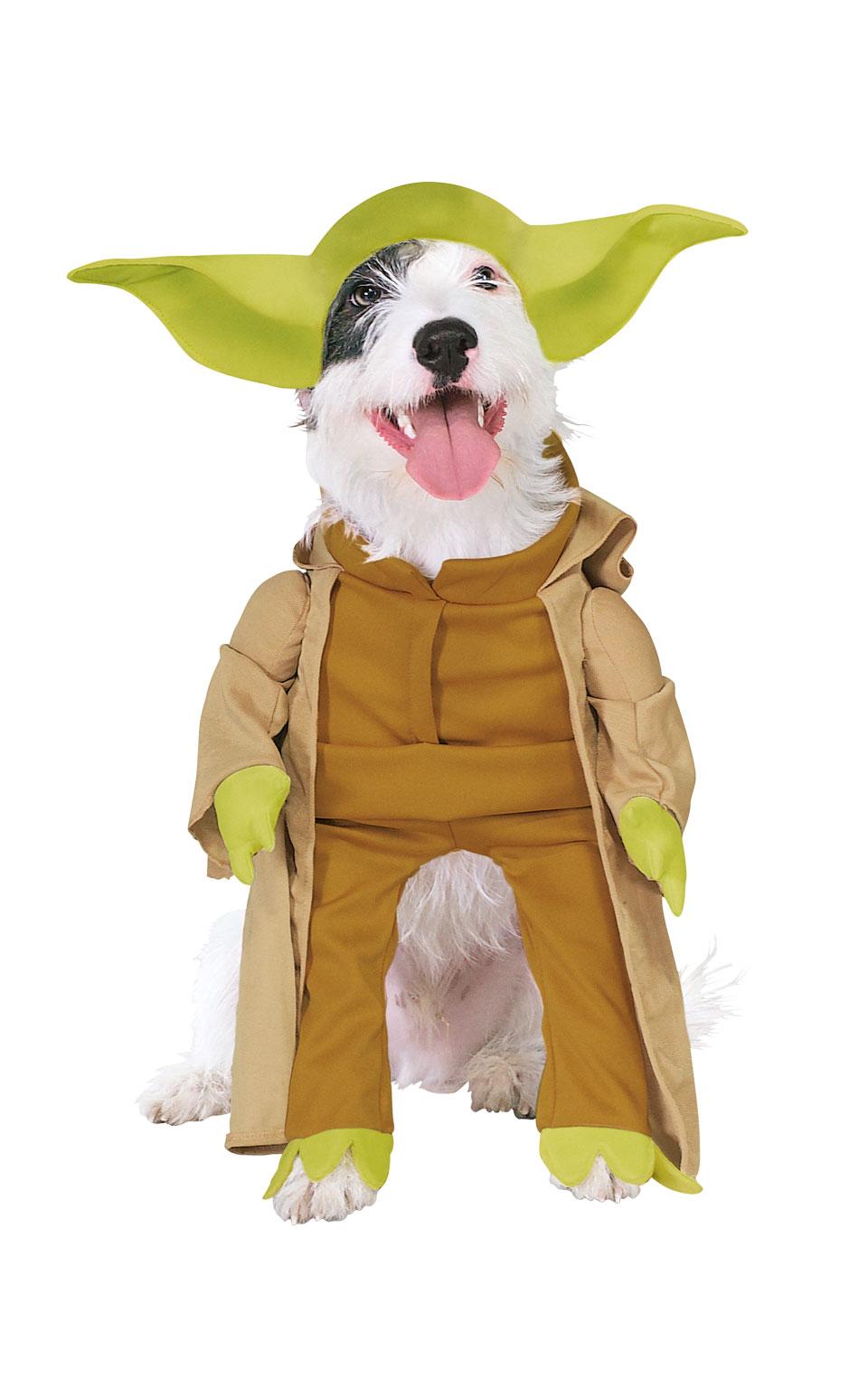 Rubies Kostým pre psov - Yoda Kostým pre psov: S