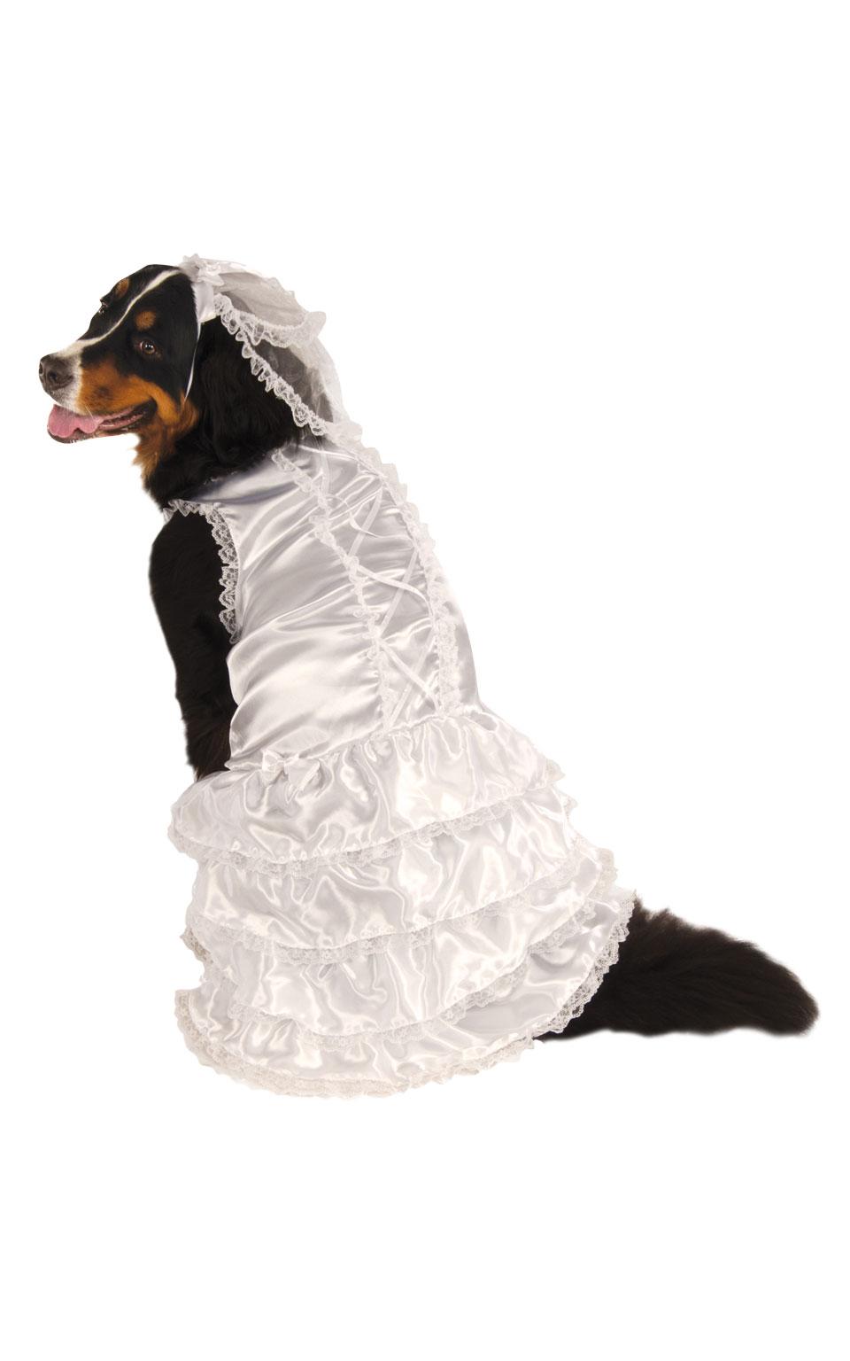 Rubies Kostým pre psov - Psia Nevesta Kostým pre psov: XXL