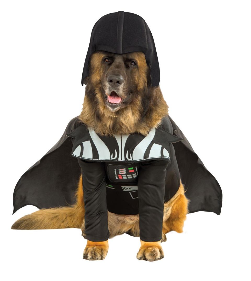 Rubies Kostým - Psí Darth Vader Kostýmy pre psov: XXL