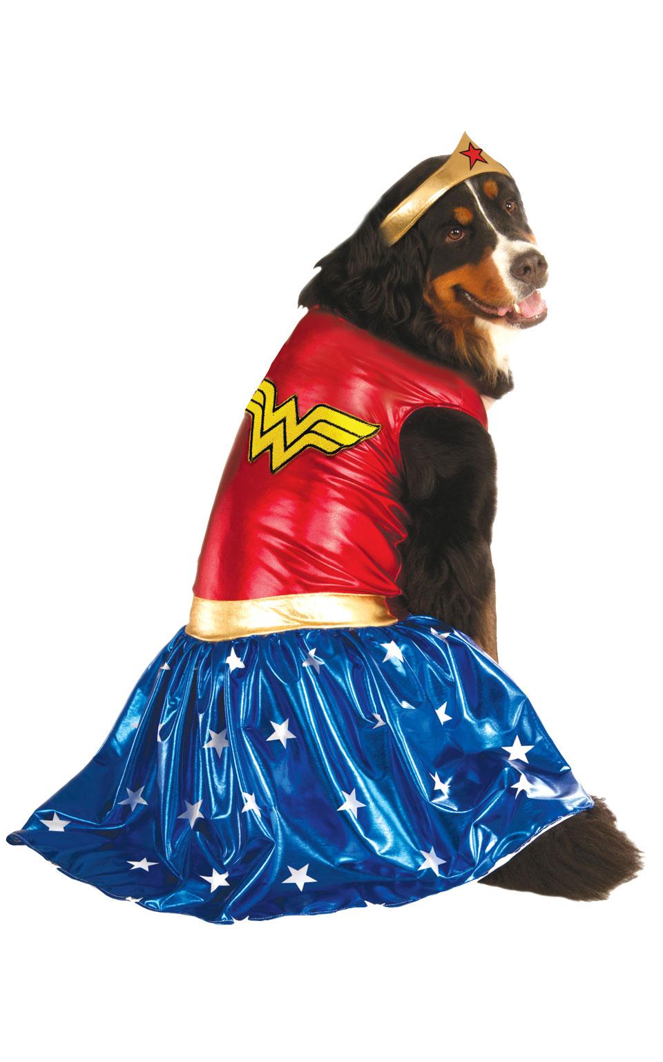 Rubies Kostým - Pes Wonder Women Kostýmy pre psov: XXL
