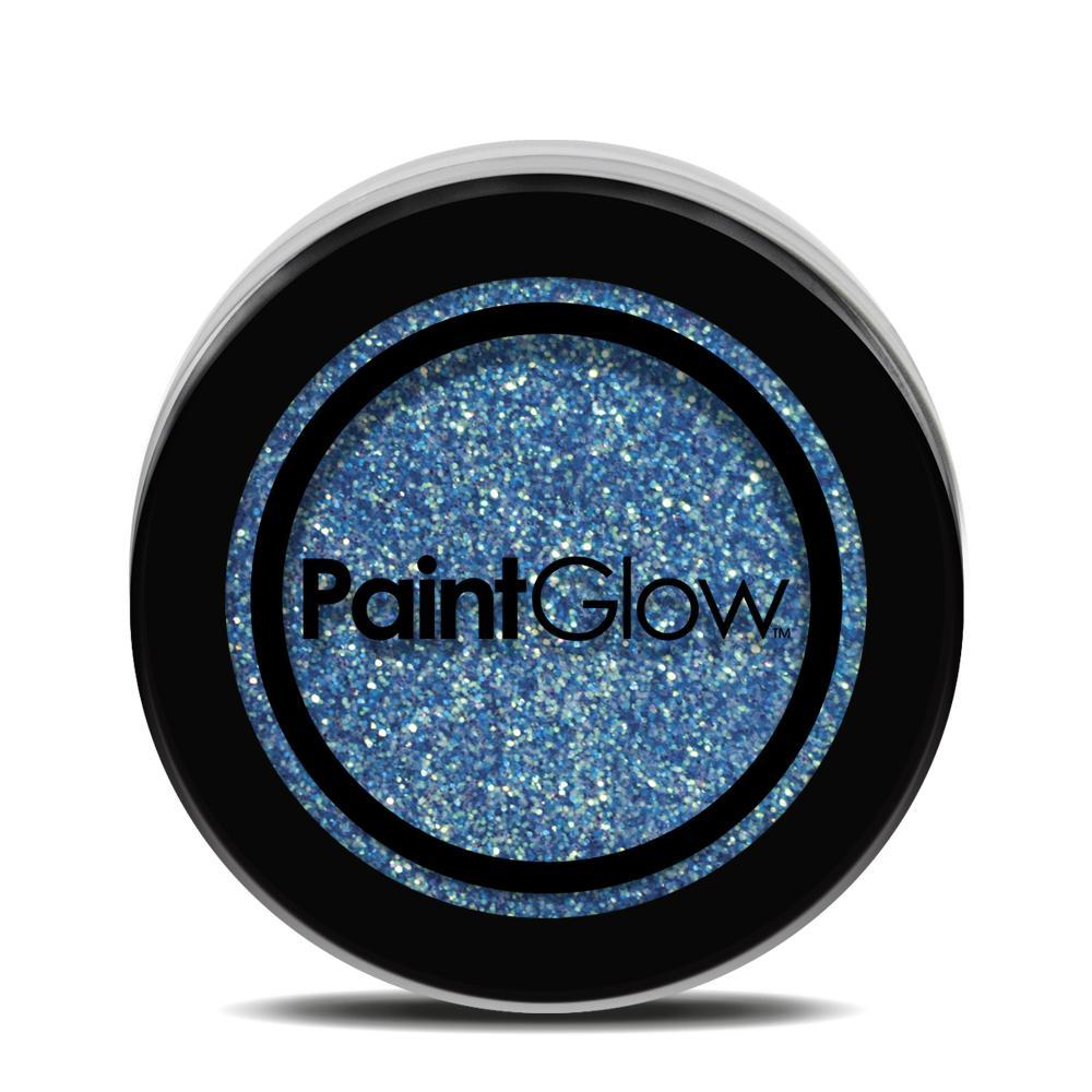 PGW UV Glitter Farba na tvár - rôzne farby Farba: modrá