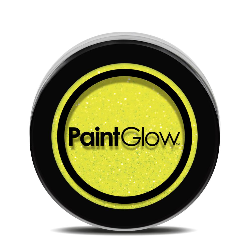 PGW UV Glitter Farba na tvár - rôzne farby Farba: žltá
