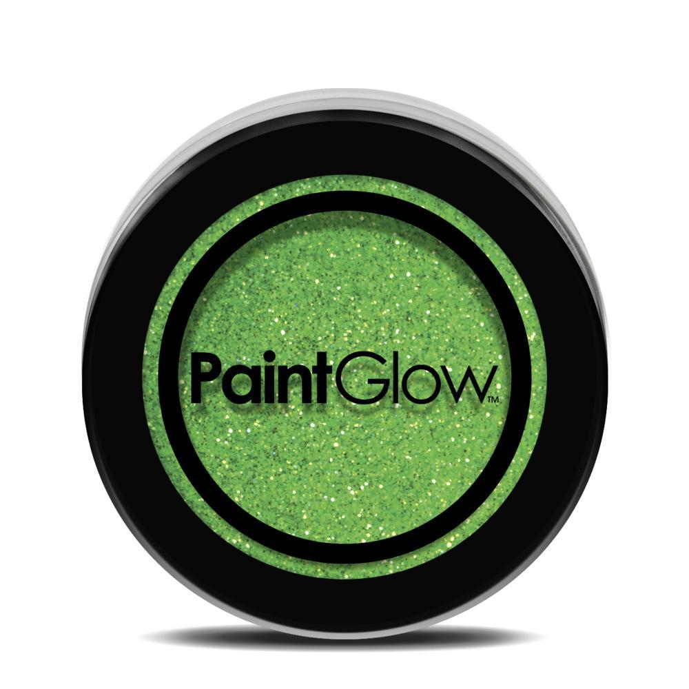PGW UV Glitter Farba na tvár - rôzne farby Farba: zelená