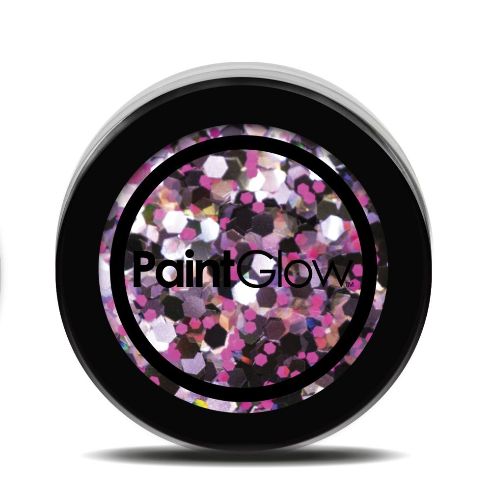 PGW Holographic Farba na tvár - rôzne farby Farba: ružová
