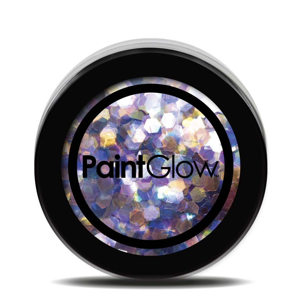 PGW Holographic Farba na tvár - rôzne farby Farba: fialová