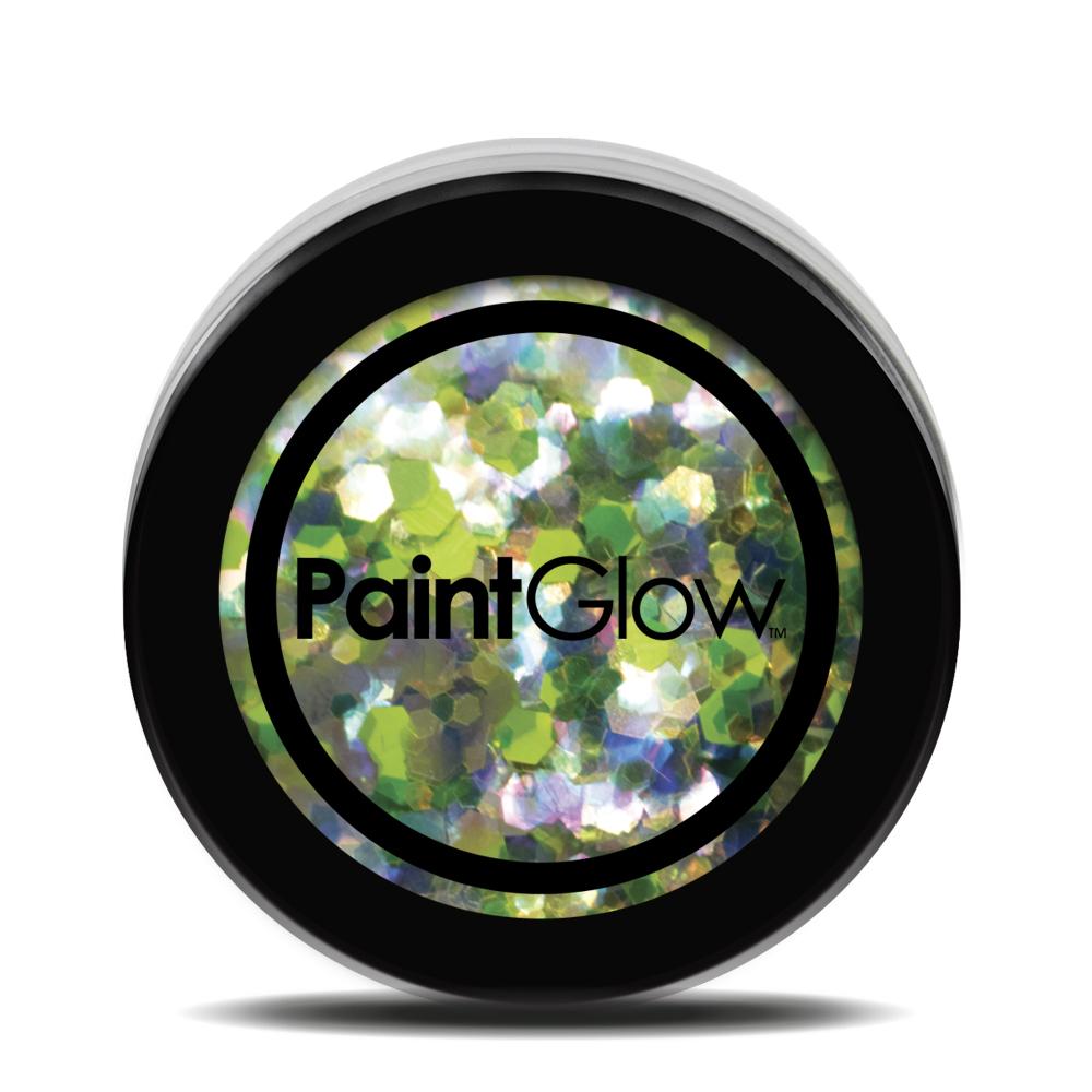 PGW Holographic Farba na tvár - rôzne farby Farba: zelená