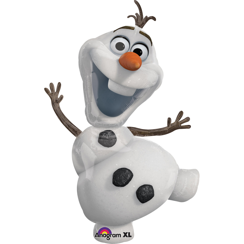 Amscan Fóliový balón Frozen - Olaf 58 x 104 cm