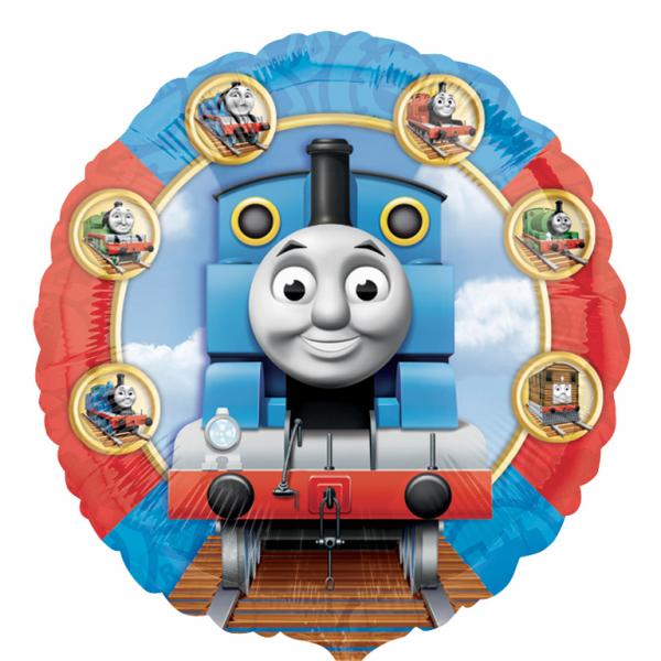 Amscan Fóliový balón lokomotiva Tomáš 45 cm
