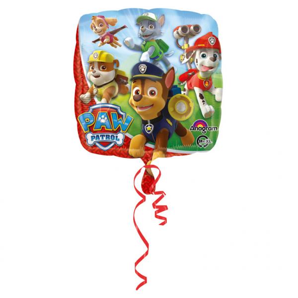 Amscan Fóliový balón Tlapková hliadka 43 cm