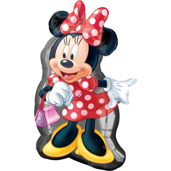 Amscan Fóliový balón Minnie Mouse 48 x 81 cm