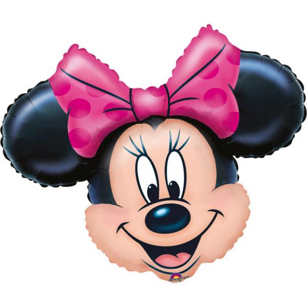Amscan Fóliový balón Minnie Mouse tvár