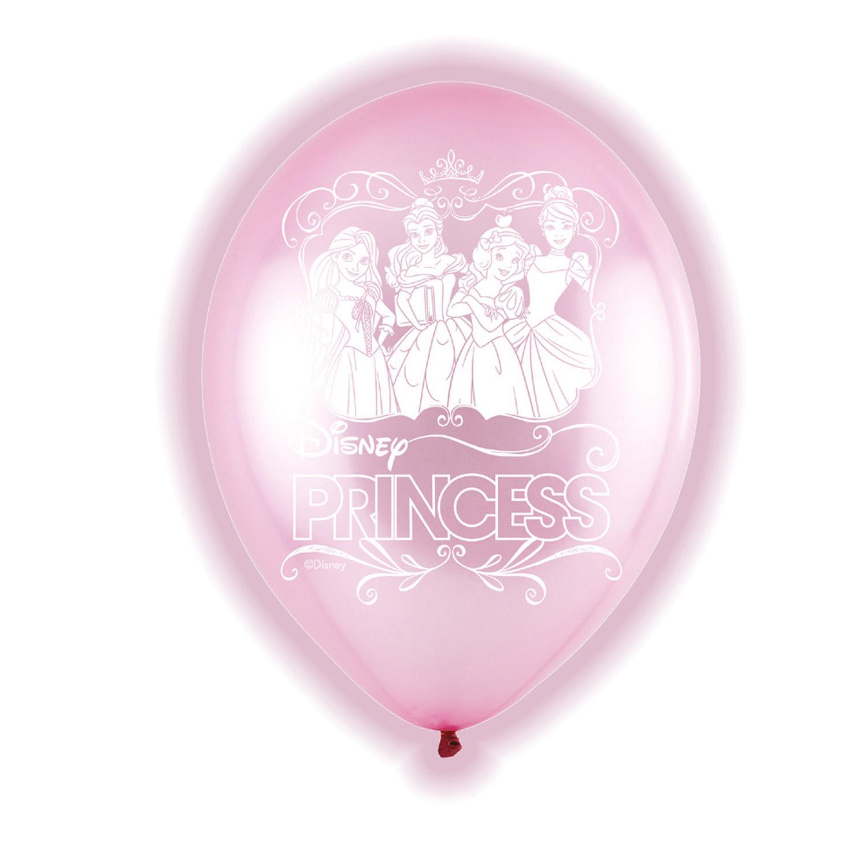 Amscan Latexové balóny LED Disney Princezné 5 ks