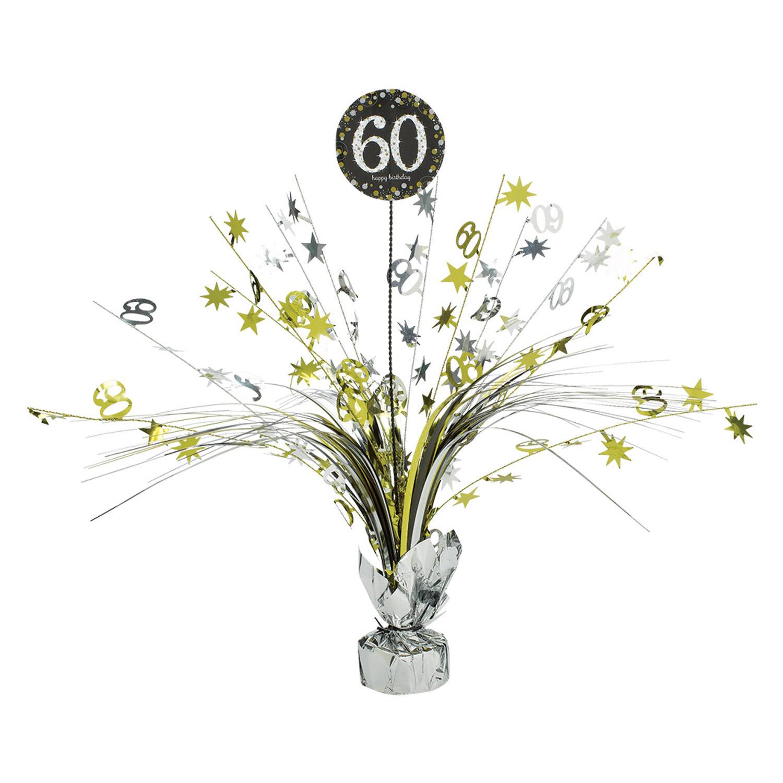 Amscan Dekorácia na oslavu - trblietavé 60. narodeniny