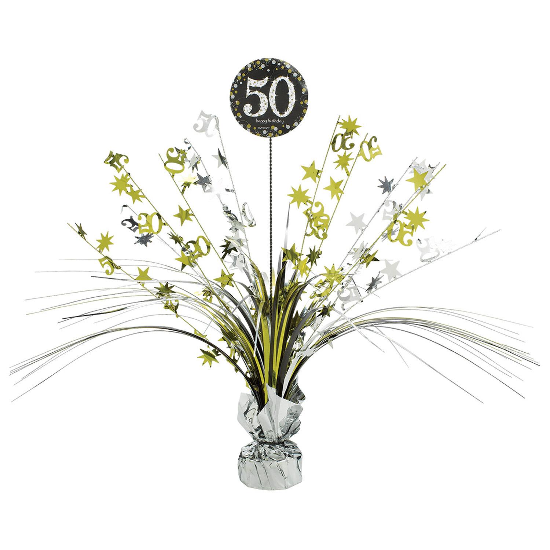Amscan Dekorácia na oslavu - trblietavé 50. narodeniny