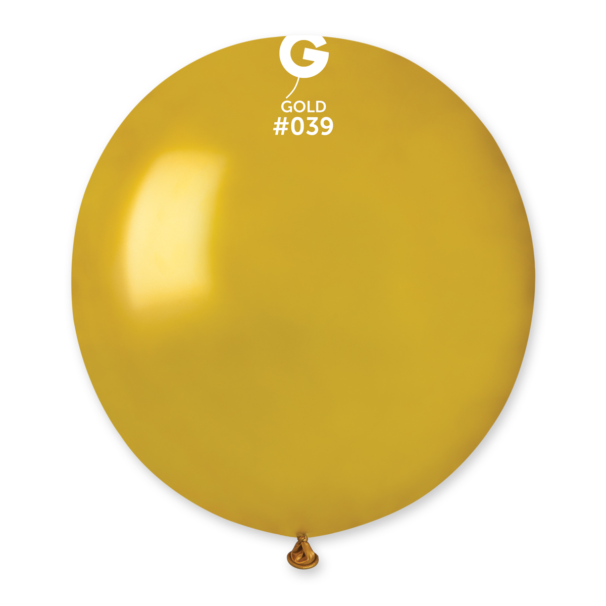 Gemar Balón pastelový zlatý 48 cm