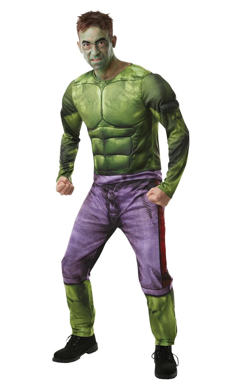 Rubies Kostým Hulk Veľkosť - dospelý: STD